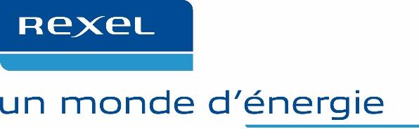 Logo Rexel - un monde d'énergie