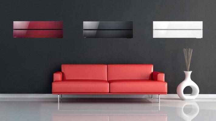 3 Unites Interieur Type Mural (rouge, noire, blanche)